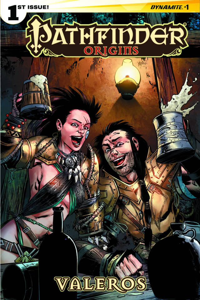 Pathfinder: Origins #1 (Garcia Cover)