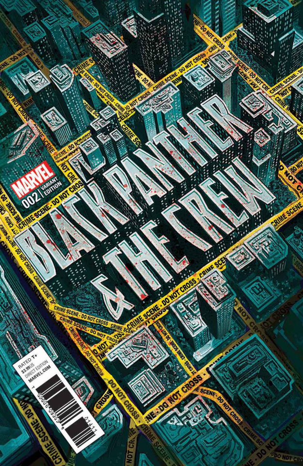 Black Panther & The Crew #2 (Del Mundo Cover)