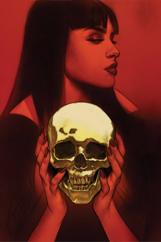 Vengeance of Vampirella #12 (Oliver Virgin Cover)