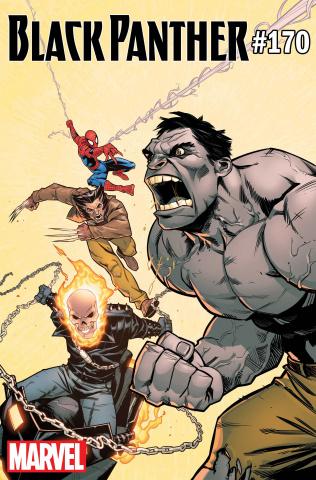 Black Panther #170 (Rud Hulk Cover)