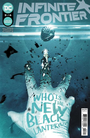 Infinite Frontier #3 (Mitch Gerads Cover)