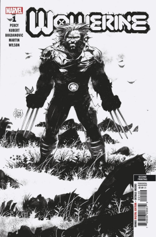 Wolverine #1 (Kubert Sketch 2nd Printing)