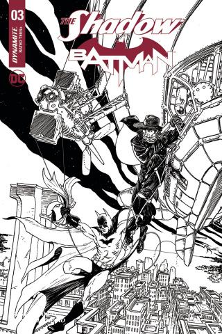 The Shadow / Batman #3 (50 Copy Kaluta Cover)