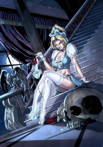 Grimm Fairy Tales: Cinderella #3 (Qualano & Nocera Cover)