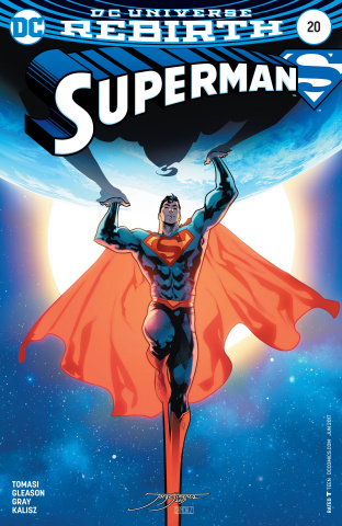 Superman #20 (Variant Cover)