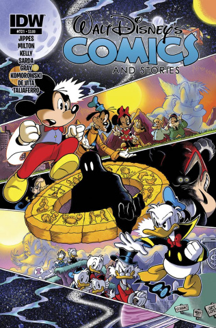 Walt Disney's Comics and Stories #721
