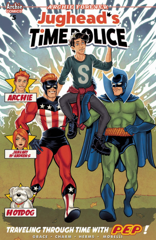 Jughead's Time Police #5 (Schoonover Cover)