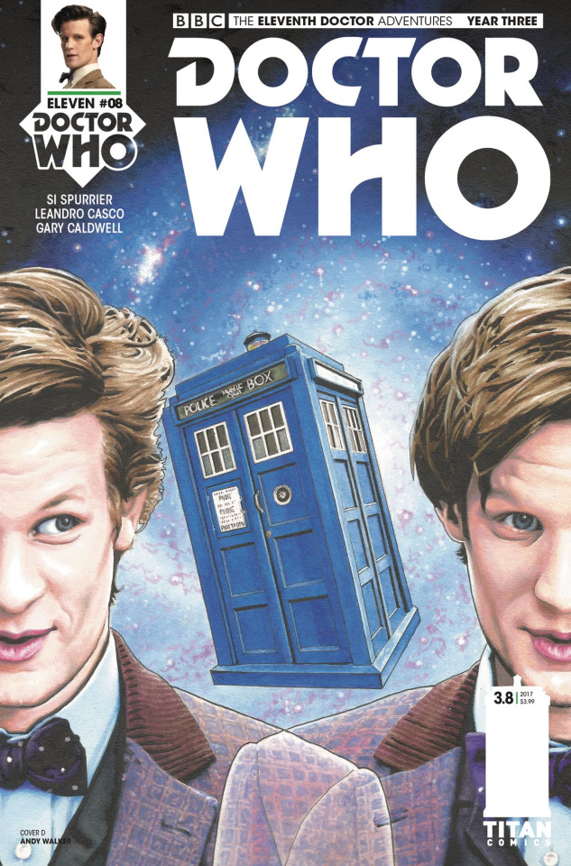 Doctor Who: New Adventures with the Eleventh Doctor, Year Three #8 (Walker Cover)