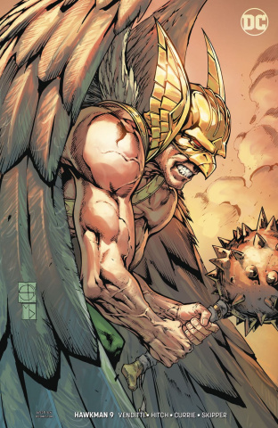 Hawkman #9 (Variant Cover)