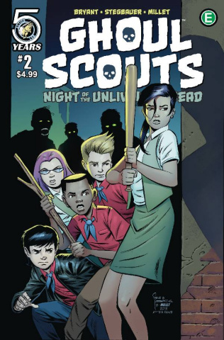 Ghoul Scouts: Night of the Unliving Undead #2 (Bryant Cover)
