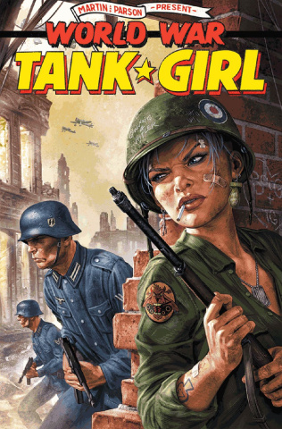 Tank Girl: World War Tank Girl #1 (Wahl Cover)