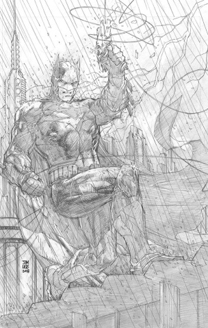 Justice League #1 (Jim Lee Pencils Only Virgin Cover)