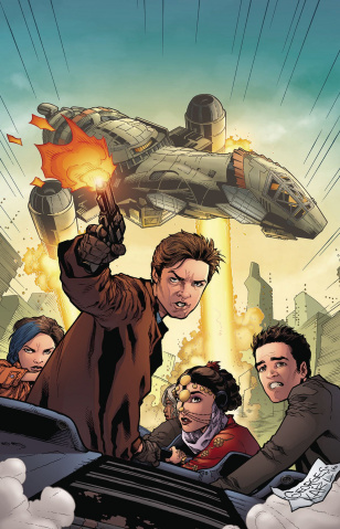Serenity: No Power in the 'Verse #4 (Jeanty Cover)