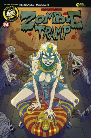 Zombie Tramp #73 (Huang Cover)