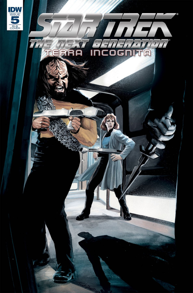 Star Trek: The Next Generation - Terra Incognita #5 (10 Copy Beals Cover)
