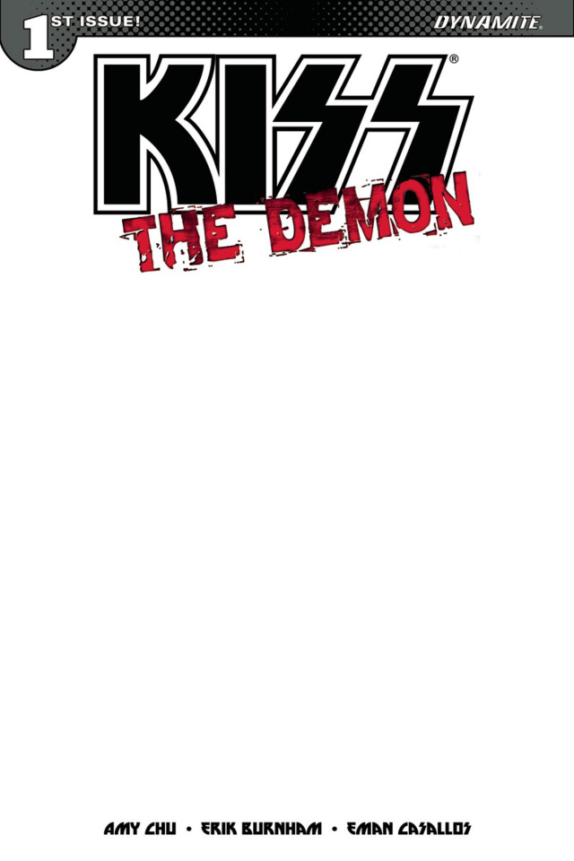 KISS: The Demon #1 (Blank Authentix Cover)