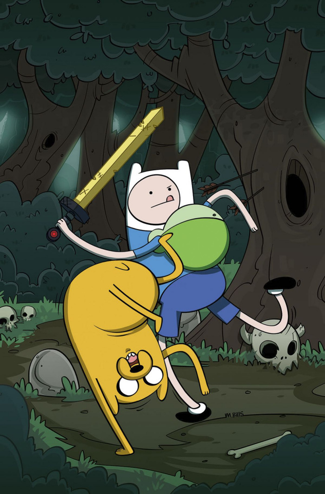 Adventure Time #66 (Subscription Bills Cover)