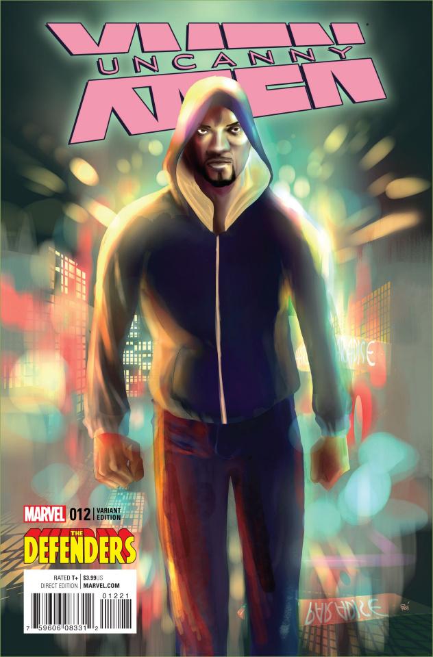 Uncanny X-Men #12 (Defenders Cover)