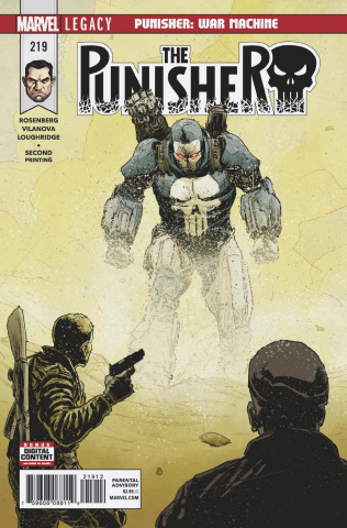 The Punisher #219 (2nd Printing)