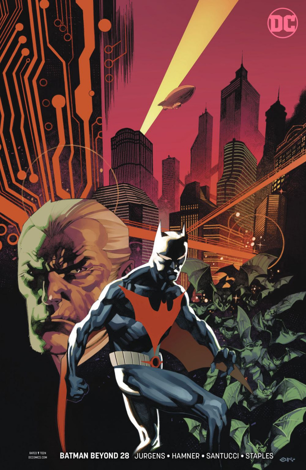 Batman Beyond #28 (Variant Cover)