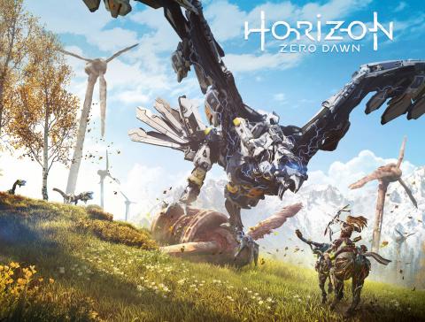 Horizon: Zero Dawn #1 (Game Art Wrap Cover)