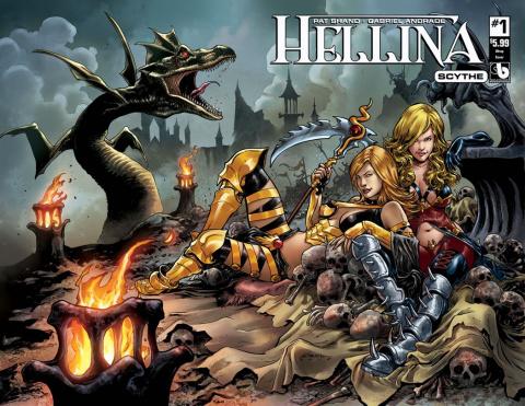Hellina: Scythe #1 (Wrap Cover_