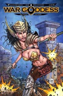 War Goddess #4