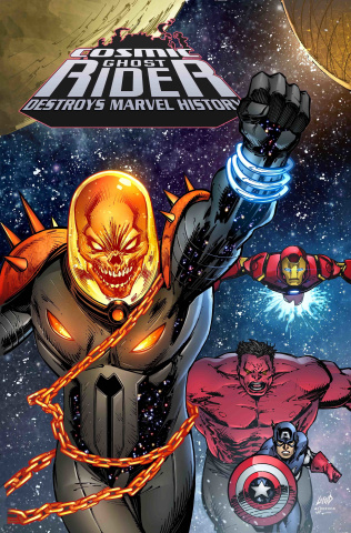 Cosmic Ghost Rider Destroys Marvel History #1 (Liefeld Cover)