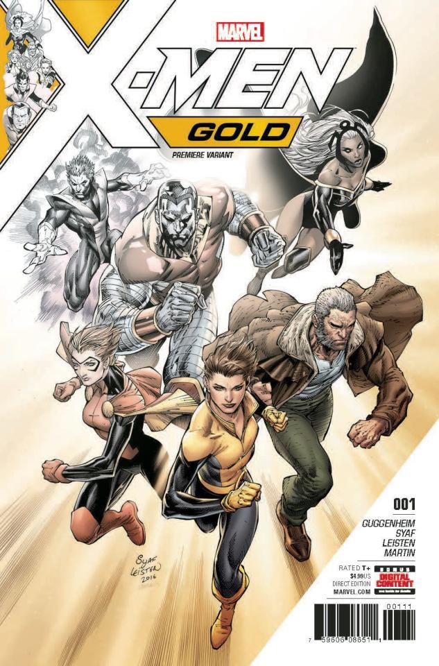X-Men: Gold #1 (Syaf Cover)