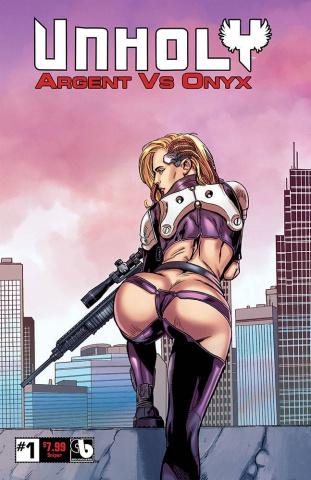 UnHoly: Argent vs. Onyx #1 (Sniper Cover)