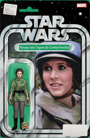 Star Wars #12 (Christopher Action Figure Cover)