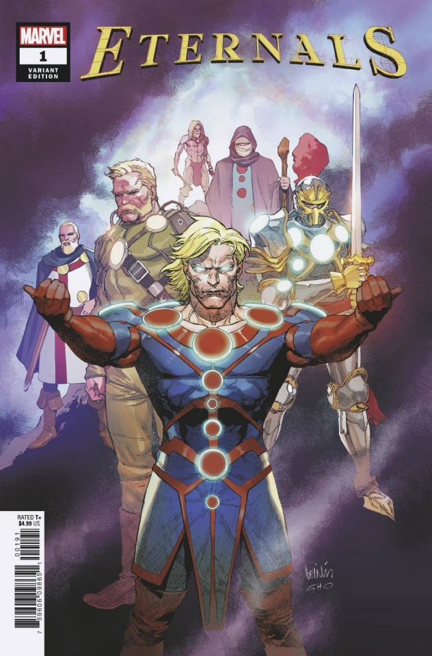 Eternals #1 (Yu Cover)