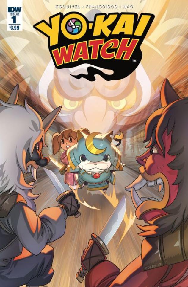 Yo-Kai Watch #1 (Subscription Cover)