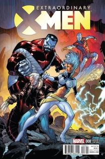 Extraordinary X-Men #8 (Stroman Classic Cover)
