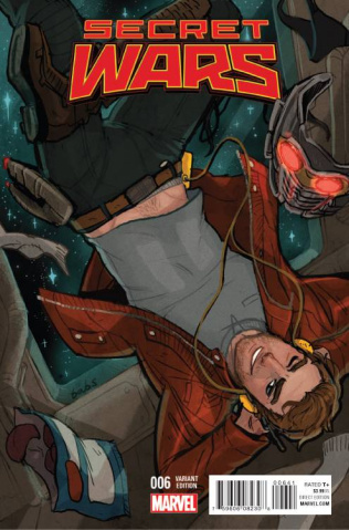 Secret Wars #6 (Tarr Cover)
