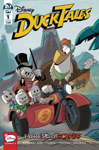 DuckTales: Faires and Scares #1 (Ghiglione & Stella Cover)