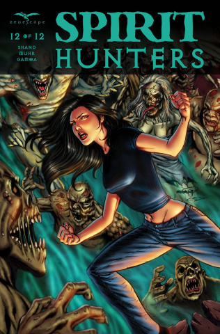 Spirit Hunters #12 (Goh Cover)