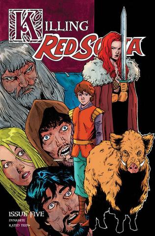 Killing Red Sonja #5 (Peeples Homage Cover)