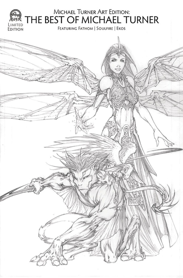 Turner Art Edition: Featuring Fathom, Soulfire, and Ekos (Retailer Cover)