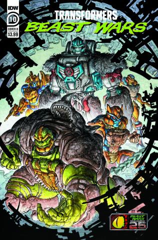 Transformers: Beast Wars #10 (Williams II Cover)