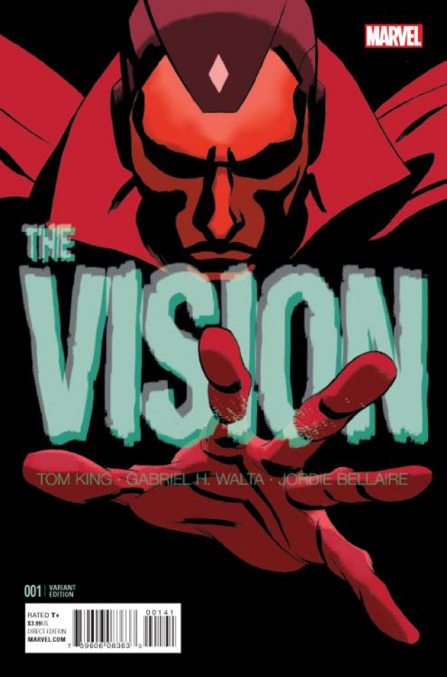 The Vision #1 (Martin Cover)