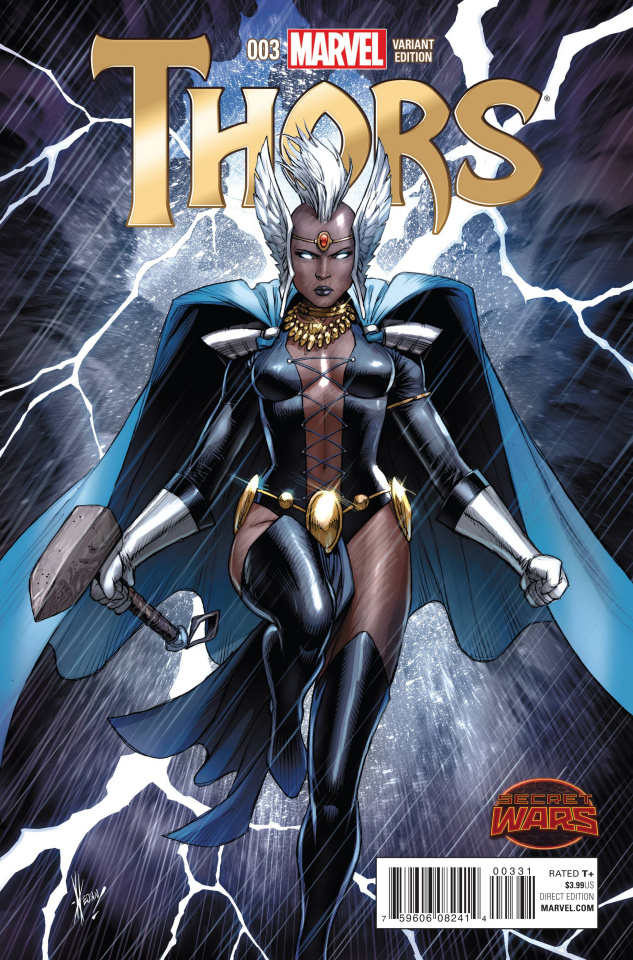 Thors #3 (Keown Cover)