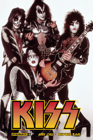 KISS #5 (Photo Cover)