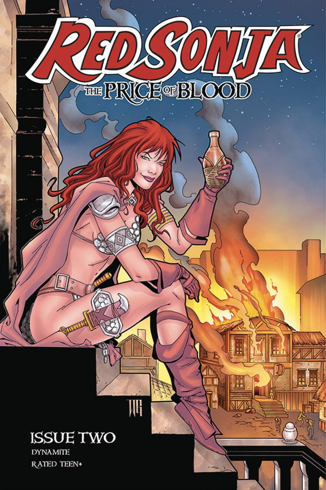 Red Sonja: The Price of Blood #2 (Geovani Cover)