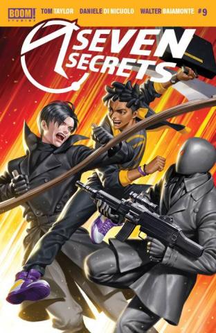 Seven Secrets #9 (Yoon Cover)
