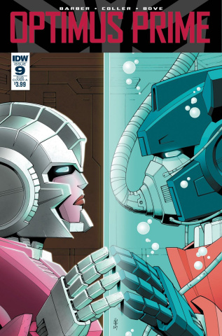 Optimus Prime #9 (Coller Cover)
