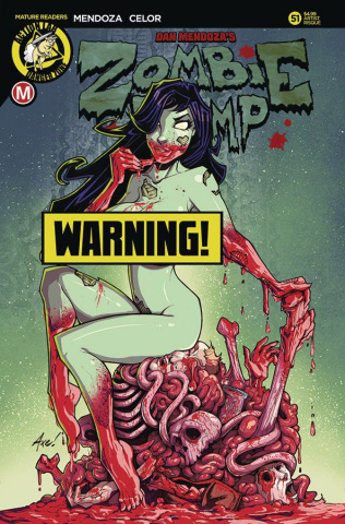 Zombie Tramp #51 (Axebone Risque Cover)