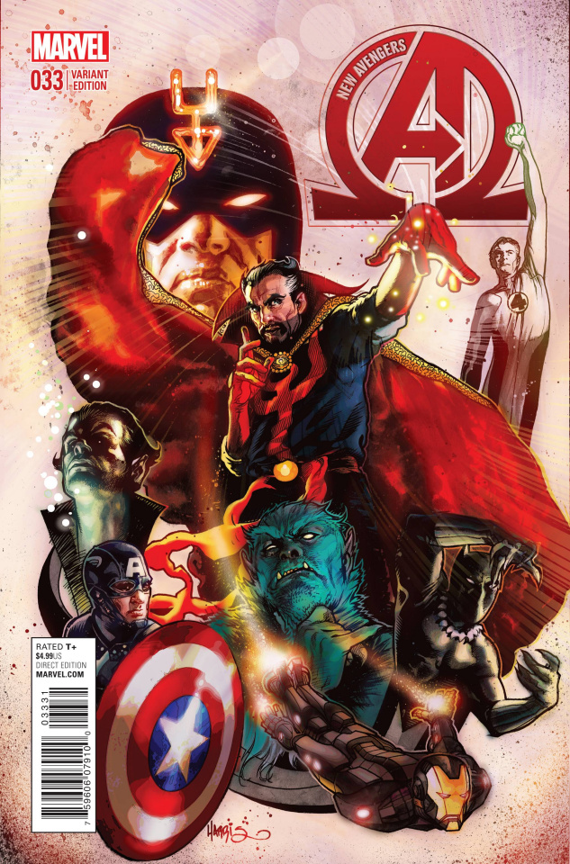 New Avengers #33 (Harris Cover)