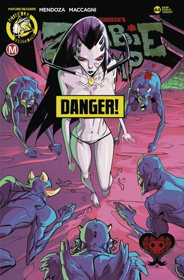 Zombie Tramp #44 (Celor Risque Cover)