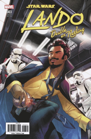 Star Wars: Lando - Double or Nothing #3 (Campbell Cover)
